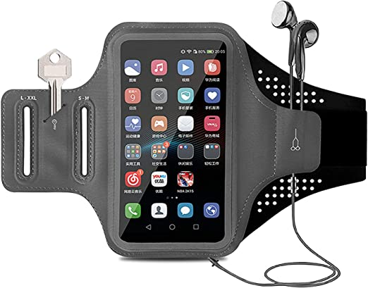 Running Arm Band Phone Holder Touchscreen Waterproof For iPhone XR 6 7 8 11 12