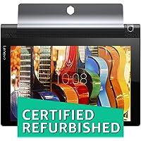 (CERTIFIED REFURBISHED) Lenovo Yoga Tab 3 10 Tablet (10.1 inch, 16GB, Wi-Fi + 4G LTE), Slate Black