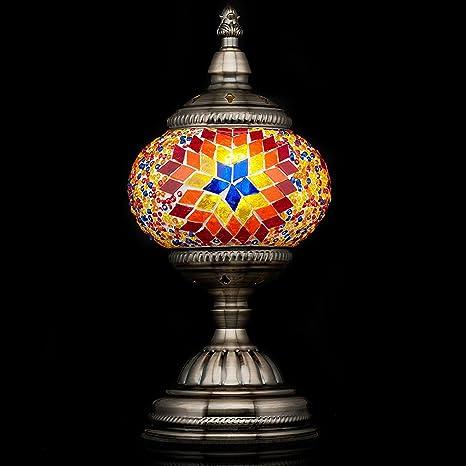 Mosaic lamp handmade turkish mosaic table lamp with mosaic lantern mosaic lamp handmade turkish mosaic table lamp with mosaic lanternbronze baseunique aloadofball Gallery