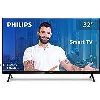 "Smart TV Philips 32PHG6825/78-32"" HD sem bordas, HDR Plus, 3 HDMI, 2 USB, Wifi Miracast, Conversor digital, Netflix…"