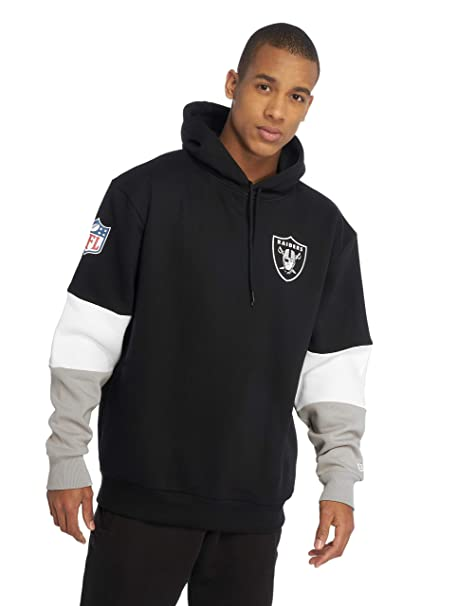 A NEW ERA Era Hombres Sudaderas NFL Colour Block Oakland Raiders: Amazon.es: Ropa y accesorios