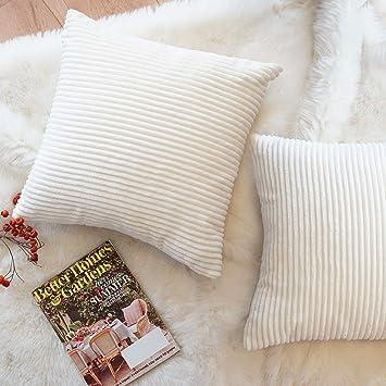 Amazon.com: FOOZOUP - Fundas de almohada decorativas de pana ...