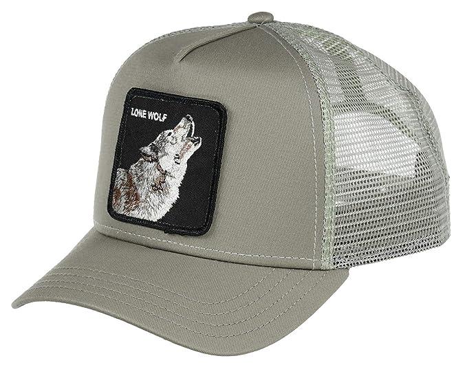 c5fe5404 Goorin Bros. Trucker Cap Wolf Grey - One-Size: Amazon.ca: Clothing ...