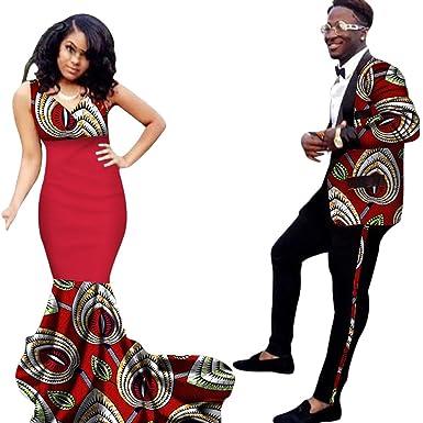 afrikanische kleider damen Top+ Dame Kleid Kleidung Dashiki Paar für ...