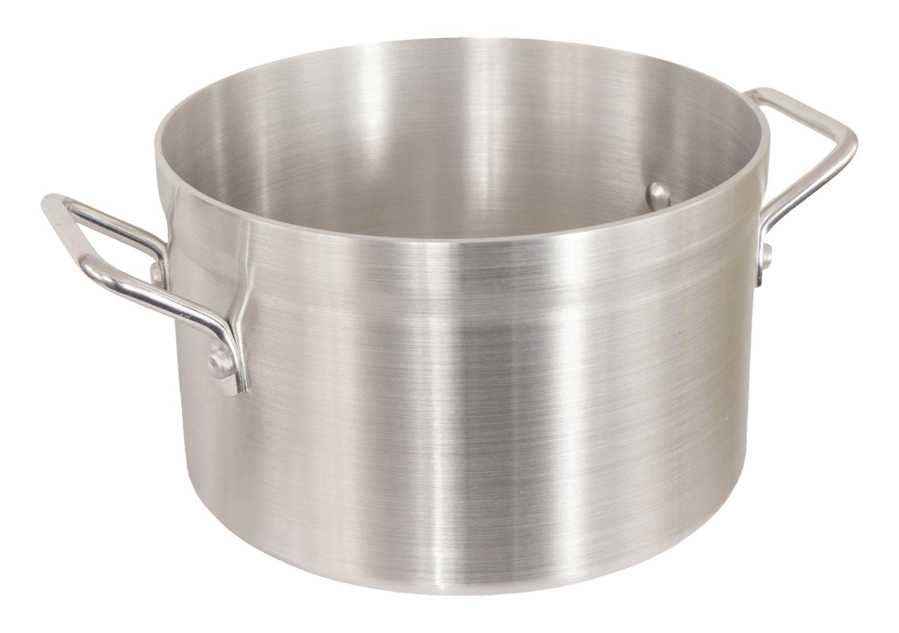 Crestware SAU18 Saucepot, 18 quart, Silver