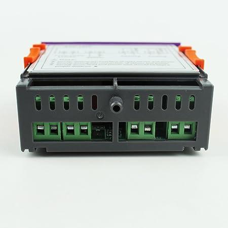 Inkbird ITC-1000 Termostato 12V Control de Temperatura para Calefacción y Refrigeración por Acuarios, Fabricación de Cerveza, Mini Invernadero, ...