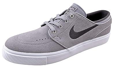 8a071eba8f558 Nike Mens SB Zoom Janoski Skate Shoes 333824-075 Grey/Grey/White 8.5 D(M) US