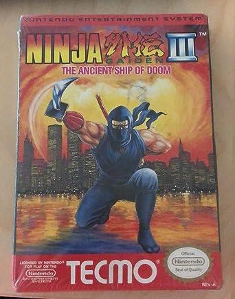 Amazon Com Ninja Gaiden Iii The Ancient Ship Of Doom Video Games