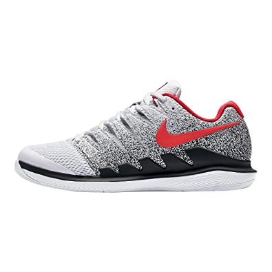 low priced e1520 724a0 Nike Chaussures de Tennis Homme air Zoom Vapor x aa8030 046 gris/noir/rouge