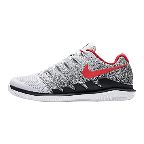 finest selection a4d23 07031 Nike Hombres Air Zoom Vapor X Zapatillas De Tenis Zapatilla Todas Las  Superficies Gris Claro - Rojo 42,5: Amazon.es: Zapatos y complementos