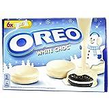 OREO WHITE CHOC biscotto cacao con ripieno alla vaniglia ricoperto di cioccolato bianco