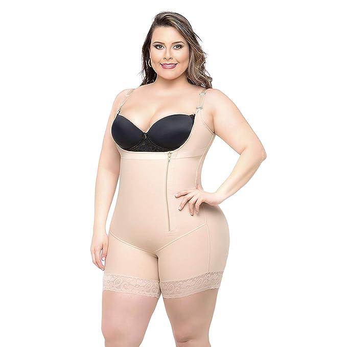 791614bc0e2 Queenral Butt Lifter Waist Slimming Body Shaper for Women Tummy Plus Size  S-6XL Beige