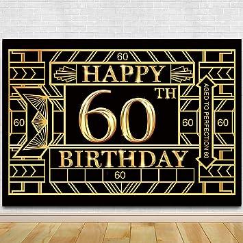 Fondo para fotografía de 60 cumpleaños, Gran Gatsby para 60 ...