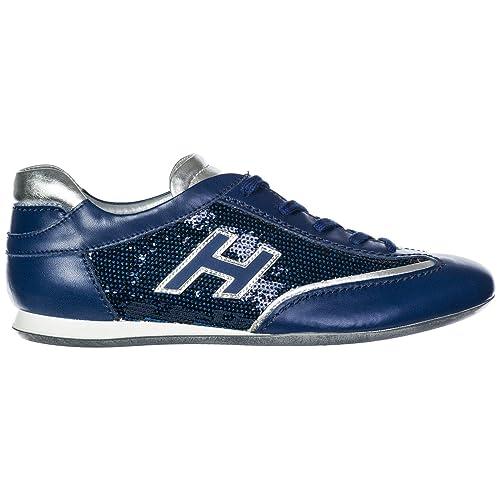 Hogan Sneakers Olympia Donna Blu  Amazon.it  Scarpe e borse 3f01578d6a8