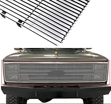 Amazon Com Aps Compatible With 1981 1987 Chevy Gmc Pickup Suburban Blazer Jimmy Phantom Billet Grille Grill C85202a Automotive