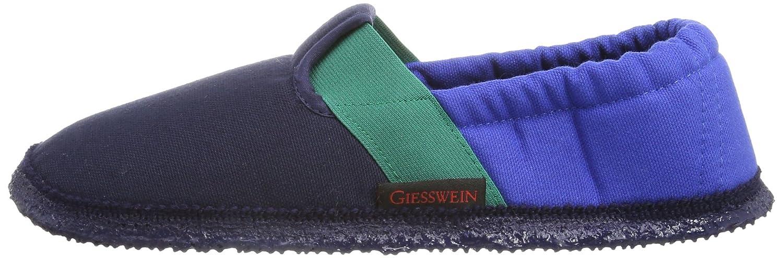 Giesswein Aichach, Jungen Flache Hausschuhe, Blau (548/dk.blau), 27 EU