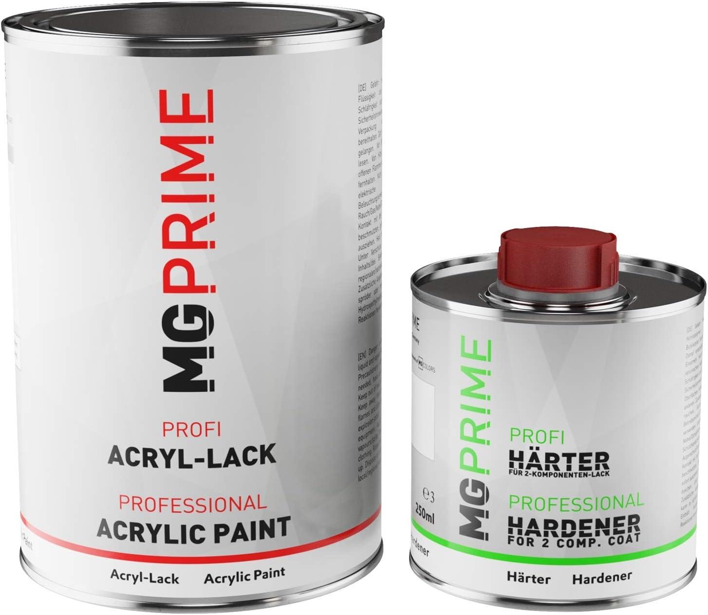 Mg Prime Ral 4009 Pastellviolett Matt Acryl Lack 1 5 Liter 1500 Ml Dose Inkl Härter Auto