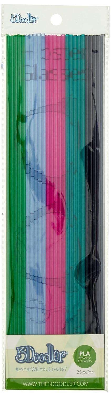 pack PLA Bubble Gum Makershop PL-MIX9 Recharge 3Doodler