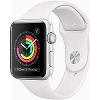 Apple Watch Series 3 GPS Caja de Aluminio Color Plata 42 mm Correa Deportiva Blanca
