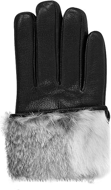 Small   Member/'s Mark Women/'s Lambskin Leather Insulation Gloves 100/% Genuine