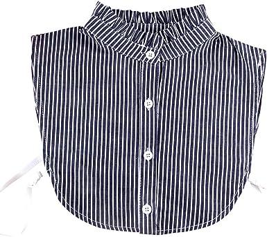 Lunji falso cuello mujer desmontables ajustable collar camisa Pull ropa accesorio a Talla única: Amazon.es: Ropa y accesorios