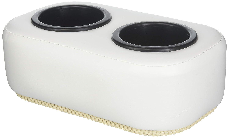 Taylor MadeクッションBuddyポータブル2-cupドリンクホルダー – ホワイト   B07C9LG8MP