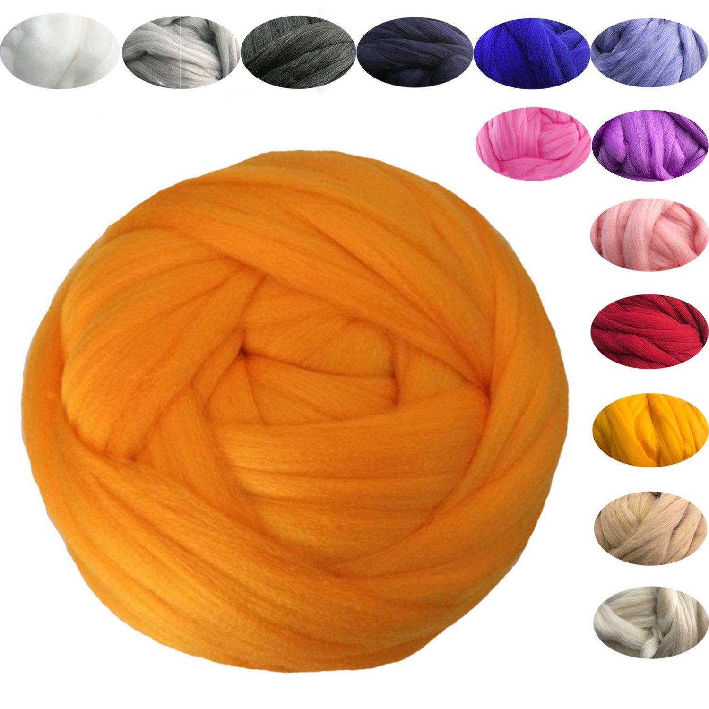 Amazon com: Thick Chunky Yarn Knitting Acrylic Soft Wool