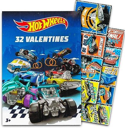 Hot Wheels día de San Valentín tarjetas – Caja de 32 tarjetas: Amazon.es: Oficina y papelería