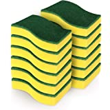 AIDEA Heavy Duty Scrub Sponge,Cleaning Scrub Sponge,Stink Free Sponge,Effortless Cleaning Eco Scrub Pads for Dishes,Pots…