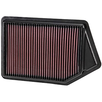 K&N Engine Air Filter: High Performance, Premium, Washable, Replacement Filter: 2013-2020 Honda/Acura L4 (Accord, Spirior, TLX), 33-2498: Automotive