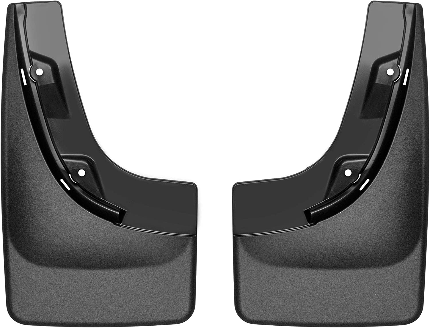 WeatherTech Custom MudFlaps for Jeep Compass 120096 Rear Pair Black