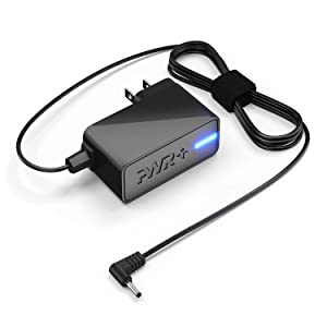 [UL Listed] Pwr+ Extra Long 6.5 Ft AC Adapter Rapid Charger for Philips Portable DVD Player Power Supply Cord