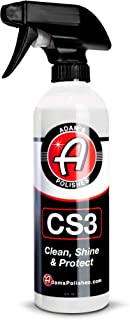 product image for Adam's CS3 Clean, Shine, & Protect | Ultimate Top Coat Waterless Wash & Wax Ceramic Spray Coating | All-in-One Cleaner, Polish, Hydrophobic Polymer Paint Sealant Protection (12oz) (16oz)