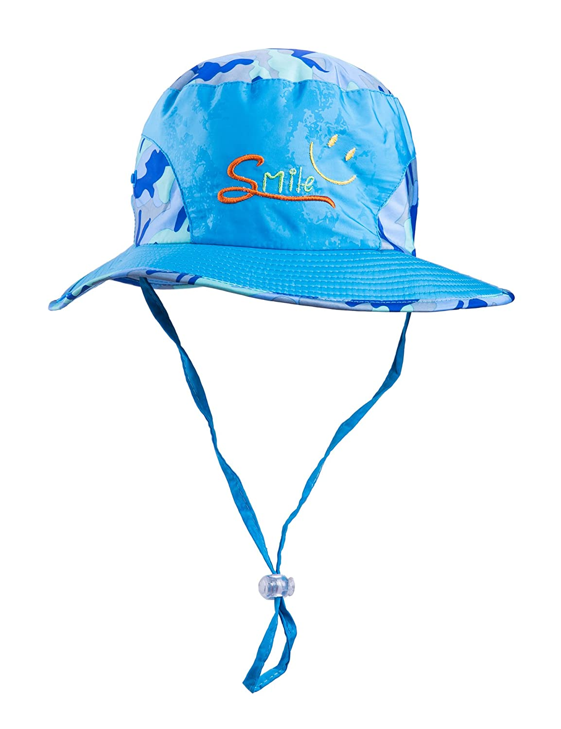 e3ac707b6a7 Amazon.com  SUOSAI Kids Hat Sun Protective (Blue)  Clothing