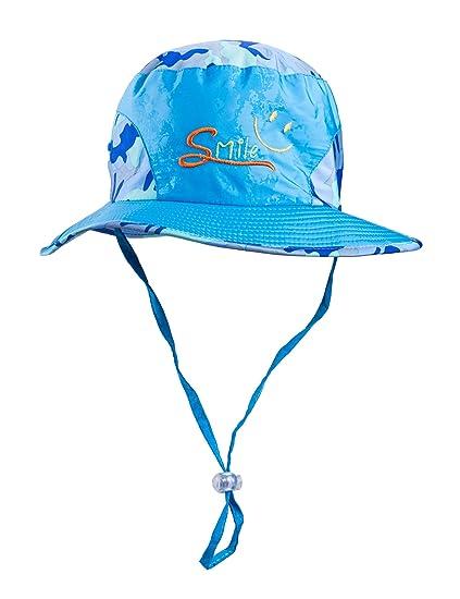 f95c2919dd948 Amazon.com  SUOSAI Kids Hat Sun Protective (Blue)  Clothing