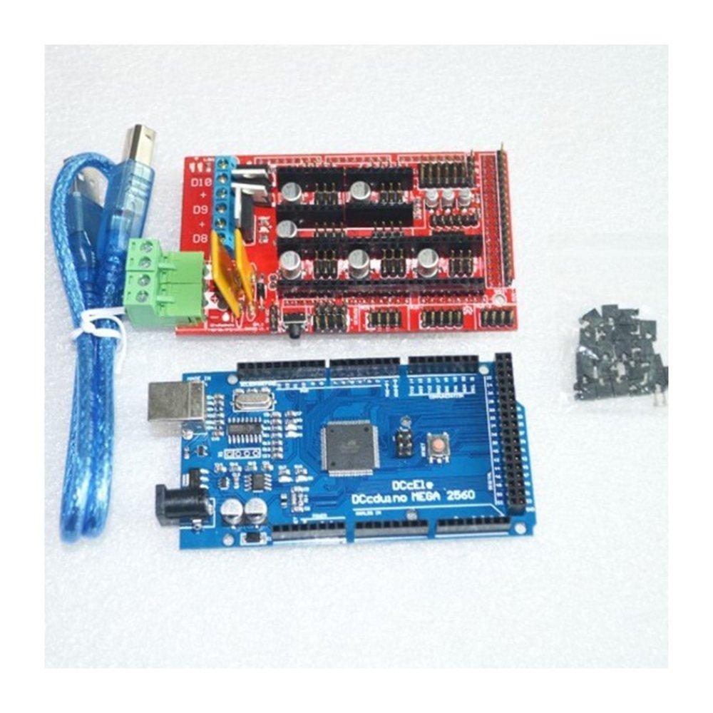 Mega 2560 R3 Mega2560 REV3 + 1pcs RAMPS 1.4 Controlador para el ...