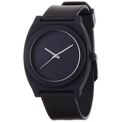 ニクソン THE TIME TELLER P NA119524-00 MATTE BLACK