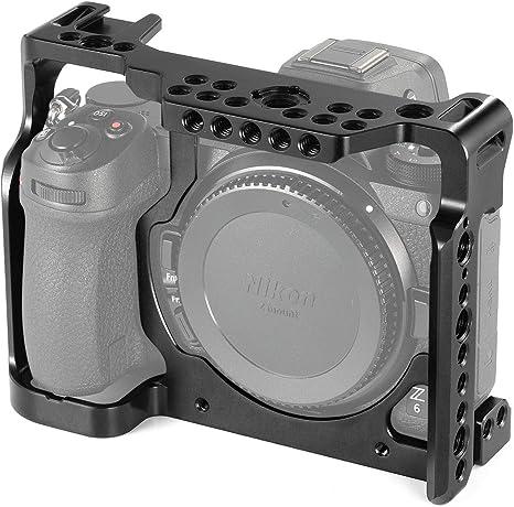 SMALLRIG Jaula Z7 Compatible con Nikon Z6 / Z7, Cage con Riel ...
