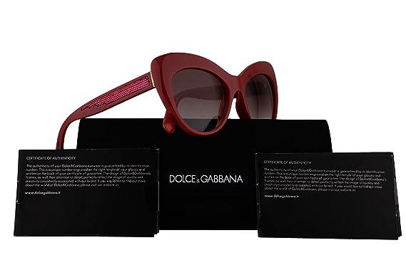 de3623a1f7ab Image Unavailable. Image not available for. Colour: Dolce & Gabbana DG6110  Sunglasses Fuchsia w/Pink ...