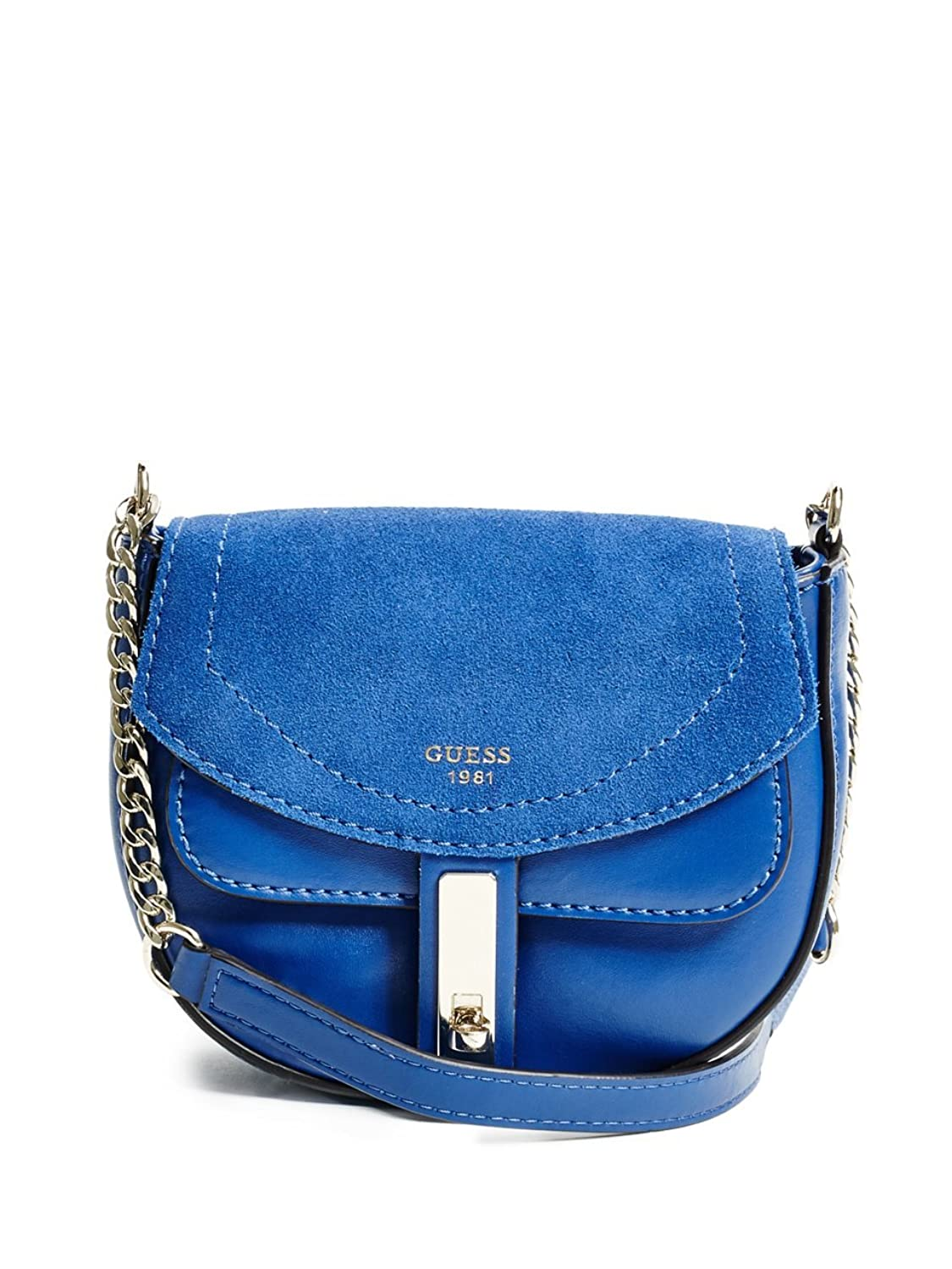 GUESS Kingsley Mixed Saddle Crossbody