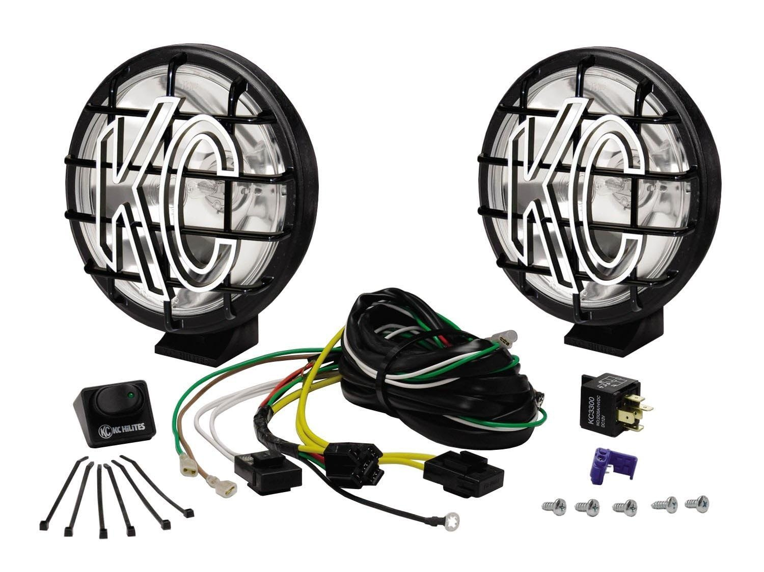 Wiring Kc Lights Jeep Just Another Diagram Blog Guide For Truck Amazon Com Rh Cherokee