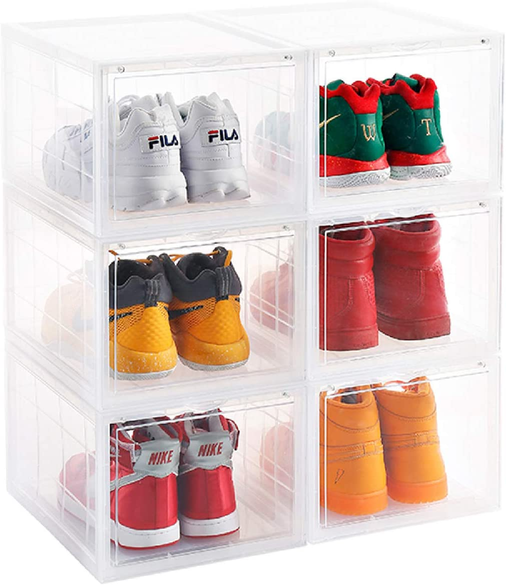 Shoe Boxes Stackable Discount Sale, UP TO 20 OFF