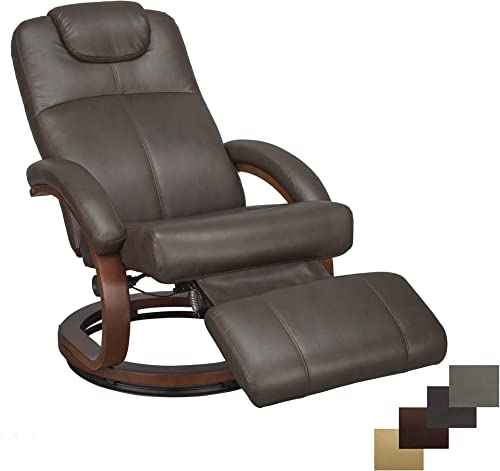 RecPro Charles 28 RV Euro Chair Recliner Modern Design RV Furniture 1, Chestnut