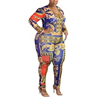 d5792a9bdf4f One Piece Jumpsuits Romper Sexy Deep V Neck Long Sleeve Bodycon Jumpsuit  Clubwear