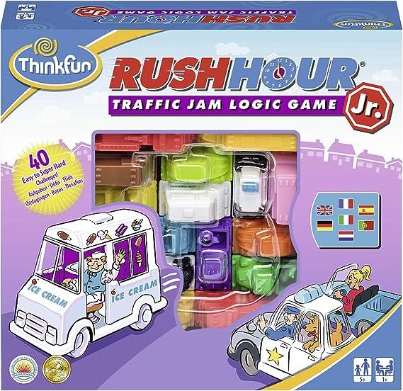 RAVENSBURGER Think Fun Rush Hour Jr. (76337), Multicolor: Amazon.es: Juguetes y juegos