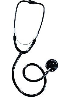 Spengler - Estetoscopio para adultos (campana sencilla), color negro