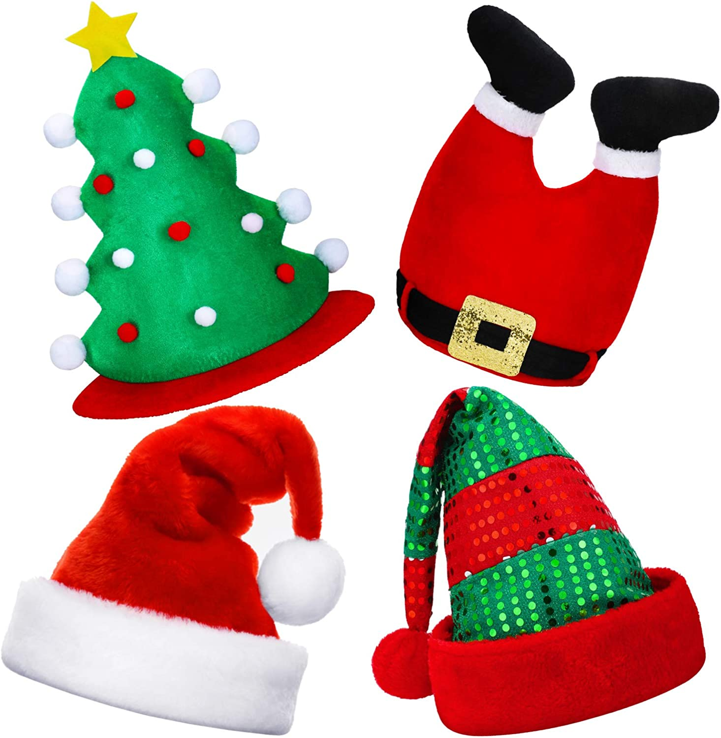 Christmas Hat Novelty XMAS Office Party Festive Fancy Gift Dress Accessories Lot