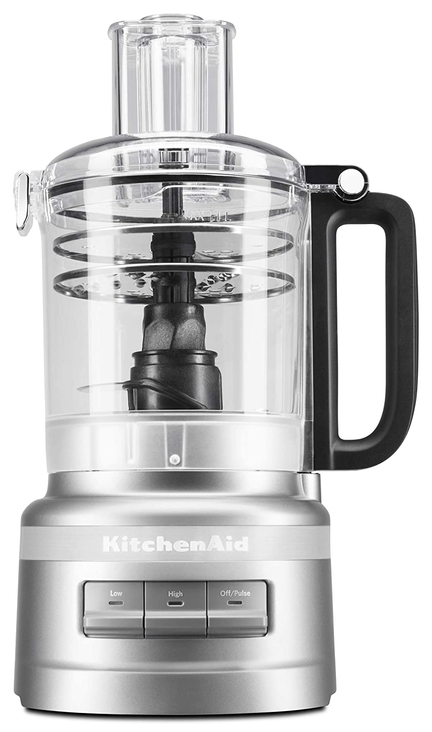 KitchenAid KFP0919CU 9 Cup Plus Food Processor Contour Silver