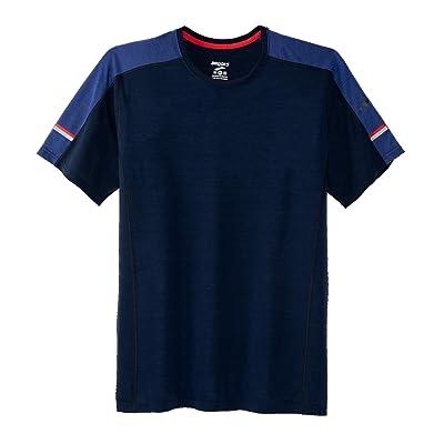 .com : Brooks Men's Distance Short Sleeve Top : Clothing