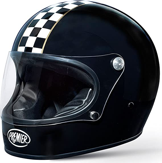Premier casco cafe racer